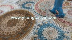 How do you feel when you are walking on the beautiful handmade silk rug ?#carpet#carpets#rug#rugs#carpetshop #carpetstore #rugshop#rugstore#persian #persianrug #persiancarpet #handmaderug#handmadecarpet #handknottedrug #handknottedcarpet #orientalcarpet#orientalrug#chinesecarpet #chineserug#silkrug #silkcarpet #halı#turkeycarpet #istanbul #Yilongcarpet More information about the hand knotted silk rugs, please contact Ms. Alice Zheng, Email: alice@yilongcarpet.com WhatsApp: 0086 156 3892…