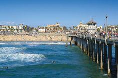 Huntington Beach, Calif. (Surf City USA) wins for Best West Coast Beach!