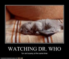 Watching Doctor Who...
