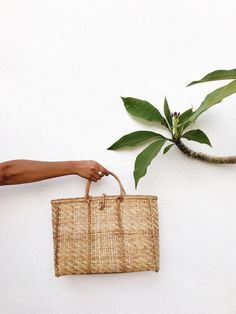 Wicker Basket Bag – WOVENFOLK Oyster Bed, Vintage Wardrobe, Indigo Dye, Basket Bag, Wicker Baskets, Oysters, Straw Bag, Bags, Spring
