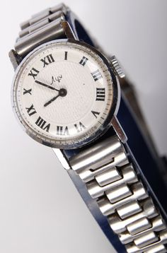 Diggin the old Soviet watches on Etsy #watch