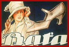 Bata Advertising, ca. 1920 #batashoes #bata120years #advertising
