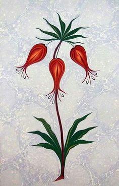 Ebru by Tuba Balcioglu 60s Theme, Ebru Art, Turkish Pattern, Water Marbling, Turkish Art, Marble Art, Islamic Art, Art Techniques, Embroidery Patterns
