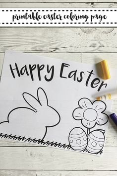 Get this FREE printable Easter Coloring Page from Everyday Party Magazine #Easter #ColoringSheet #ShopEverydayPartyMagazine