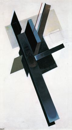 Bild: Gustav Kluzis - Axonometrisches Gemälde