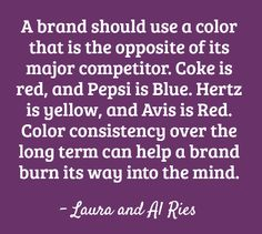 The Law of Color for brand strategy