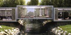 Bridge House by ObjecktCreative. Así también me gustaría mi LTBE!!