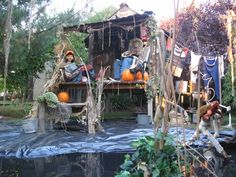 Photo 1 of 7 from Halloween 2011 Voodoo on the Bayou Halloween Prop, Disney Halloween, Voodoo Halloween, Halloween Haunted Houses, Outdoor Halloween, Halloween 2017, Halloween Themes, Swamp Party, Swamp Theme