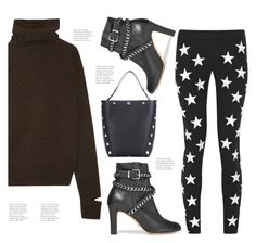 """""""Star in B&W!"""" by hattie4palmerstone ❤ liked on Polyvore featuring Gareth Pugh, Schutz, Joseph and Mulberry"""