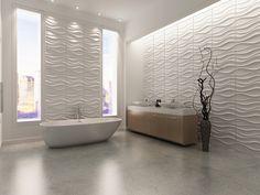 3D wandpanelen LAKE. Een van de best verlopende wanddecoratie van Design your Home