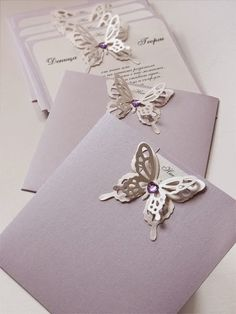 Butterfly Wedding Invitations - 5 Top Tips. Read more: http://simpleweddingstuff.blogspot.com/2015/01/butterfly-wedding-invitations-5-top-tips.html
