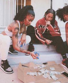 Soft Ghetto, Ghetto Fabulous, Fille Gangsta, Gangsta Girl, Black Girl Magic, Black Girls, Black Women, Bff Tattoos, Skin Girl
