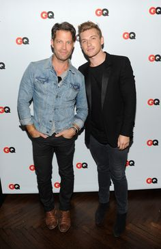 Nate Berkus and Jeremiah Brent - GQ Celebrates Their Latest Issue in NYC