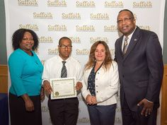 Greenport's Christopher North Sworn as Suffolk County Community College Student…