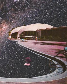 Space Collage by Haley Eder. Surrealist Collage, Collage Art, Vaporwave, Retro, Collage Illustration, Surrealism Photography, Surreal Art, Photomontage, How To Do Yoga