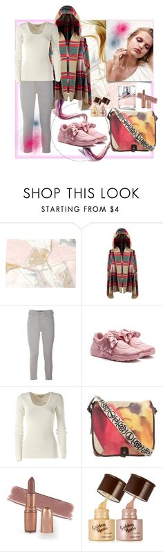 """""""Pink Sneakers"""" by natalyapril1976 ❤ liked on Polyvore featuring Scotch & Soda, Puma, Michael Kors, Chanel and BOSS Hugo Boss"""