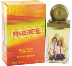 Inspired by the eponymous mexican television series, rebelde womens fragrance invokes a sense of courage, ambition and fearlessness. Wear this 2006 creation from air val international to ace a test, nail a job interview or wear a new designer dress for the very first time. The rosemary, mandarin orange, tarragon and basil scent notes in this rich, earthy fragrance turn heads and garner respect from everyone that you encounter throughout your school or work day.