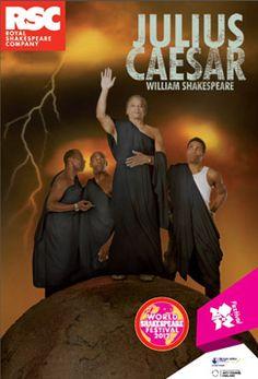 Julius Caesar programme cover