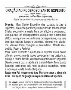 Oferta ! Santinho Santo Expedito - Milheiro De Promessa E Oração por $ 22.3 en Paraná | DePrecios.co ®
