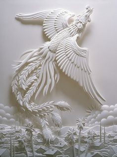 Jeff Nishinaka's 3D paper sculpture by Nguyen Ngoc Chinh, via Flickr