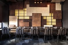 """image from Interior Design, description reads """"Gaspar fusion eatery by Autoban. Photography courtesy of Autoban."""""""