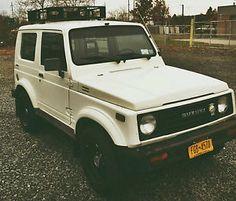 1987 Suzuki Samurai Hard Top Tin Top
