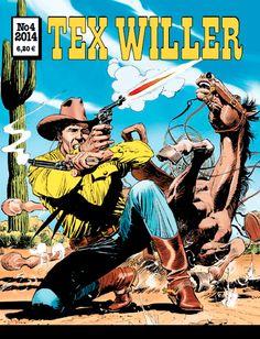 Tex Willer -lehti no 4/2014. #egmont #sarjakuva #sarjis #sarjakuvalehti