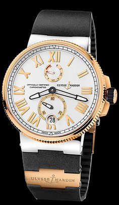 Call 813-875-3935 or 727-898-4377 to buy genuine, brand new Ulysse Nardin Timepieces from an Authorized Dealer! Model 1185-122-3/41