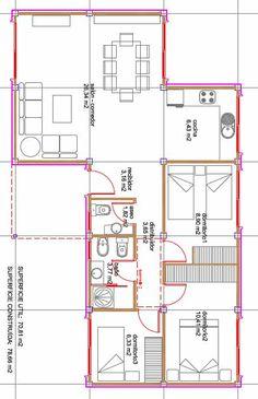 plano casa modular Más
