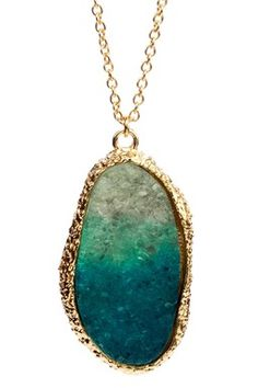 LOVE LOVE LOVE   Palmira Druzy Necklace- soldout :(