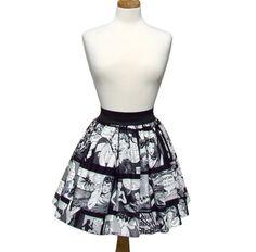 Comic strip retro inspired skirt https://www.etsy.com/listing/197529706/comic-strip-retro-inspired-skirt