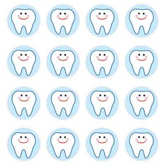 810 self-adhesive seals Acid free and lignin free diameter Dental Kids, Medical Dental, Dental Health, Dentist Clipart, Tooth Template, Tooth Clipart, Japanese Couple, Dentist Appointment, First Tooth