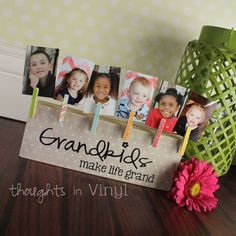 Grandkids Brag Board | Thoughts in Vinyl Only $13.00