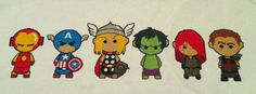 The Avengers cute pattern