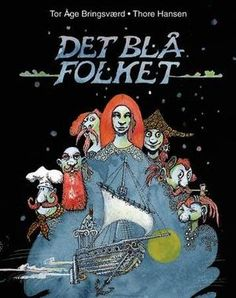 """Det blå folket"" av Tor Åge Bringsværd Reading, Books, Movies, Movie Posters, Libros, Film Poster, Word Reading, Films, Popcorn Posters"