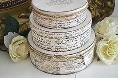 Krabičky - Sada 3 vintage krabičiek - 5805030_
