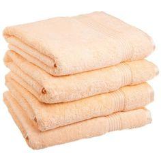 Nashville 600GSM Premium Combed Cotton 4 Piece Bath Towel Set
