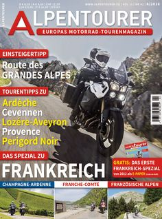 ALPENTOURER 4/2016 Provence, Comic Books, Comics, Europe, Touring, Alps, France, Tips, Comic Strips