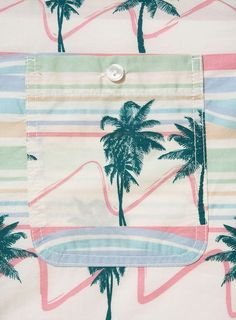 Stripes and Palm trees.
