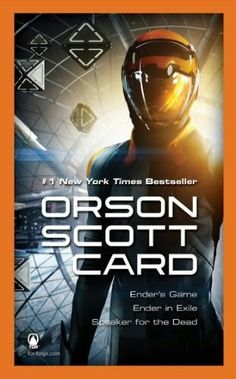 enders game book cover | Ender's Game Boxed Set II (Ender's Game Omnibus) by Orson Scott Card..... This book was absolutely amazing, its my new favorite...I can't wait to read the rest of the series.
