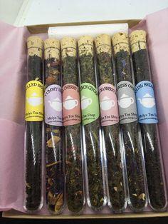 Tea Set de regalo muestra de té hojas sueltas tés día del