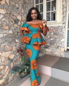 ankara styles pictures,ankara styles gown for ladies,beautiful latest ankara styles,latest ankara styles for wedding,latest ankara styles ovation ankara styles Latest African Fashion Dresses, African Print Fashion, Indian Fashion, Korean Fashion, African Attire, African Dress, African Lace, 90s Fashion, Fashion Outfits