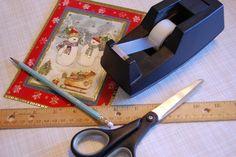 Junie Moon: Origami Greeting Card Box Tutorial