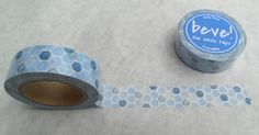 Blue Hexagon Washi Tape