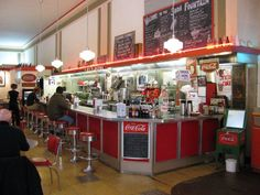 Woolworth's soda fountain & grill...They had the best burgers, shakes, etc!  Acquired restaurant equipment when Woolworth's closed.  Walked from CBD to eat & shop often!  @Lori Cline Doherty