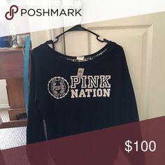 Showing only XS PINK Victoria's Secret Tops Sweatshirts & Hoodies