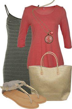 Kickin It Coral Outfit includes Vigorella, Nest Of Pambula, and Milk & Sugar - Birdsnest Fashion Clothing