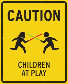 Children at Play - Star Wars style