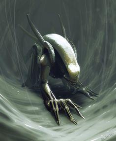 Alien by NamelessRocker on DeviantArt