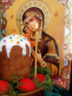 О дарении крашеных яиц на . Традиция красить яйца на Пасху.